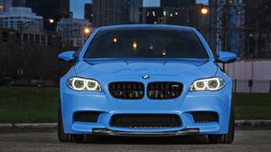 Marina Blue Bmw M5 F10 Free Download Wallpaper HQ