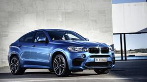 Photo Of Bmw X6 Blue Color Free HD Image
