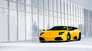 Lamborghini Supercar Yellow Murcielago Free Transparent Image HQ