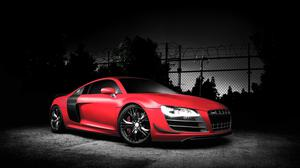 Red Audi R8 Gt HQ Image Free Wallpaper
