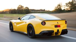 Ferrari F12 Side And Back View Download HQ Wallpaper