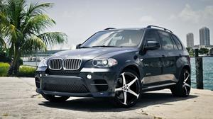 Gray Bmw X5 Gray Side View Wallpaper Image High Quality
