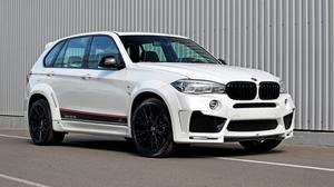 Bmw F15 White Color Side View Free Download Image