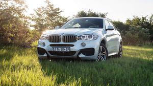 Bmw X6 Xdrive M F16 And Field Nature View Wallpaper Free Photo