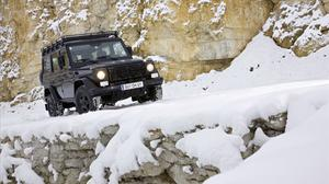 Ride Mercedes Benz Car On Rock Snow Road Free Photo Wallpaper