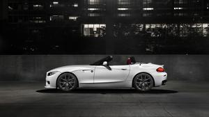 Roadster Bmw Z4 Car Night Photo HD Image Free Wallpaper