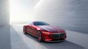 Vision Mercedes Maybach 6 Free Transparent Image HQ