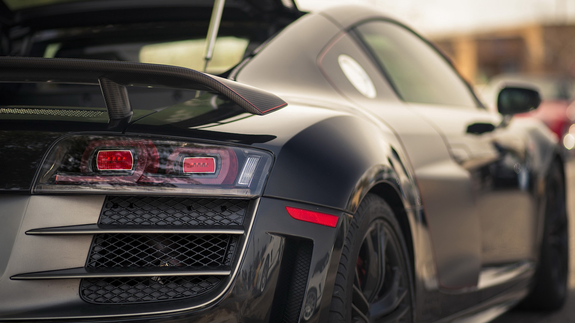 buttocks,rear end,auto,cars,bumper,r8,behind,headlights,rump,buns,gt,can,bum,railroad car,audi,audi hd,rear,prat