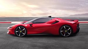 2019 Ferrari Sf90 Stradale Sports Car Download HD Wallpaper