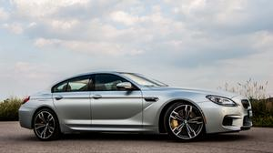 Bmw M6 Gran Coupe Gray And Sky View Wallpaper File HD