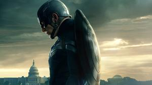 Chris Evans As Superhero Captain America Download HQ Wallpaper