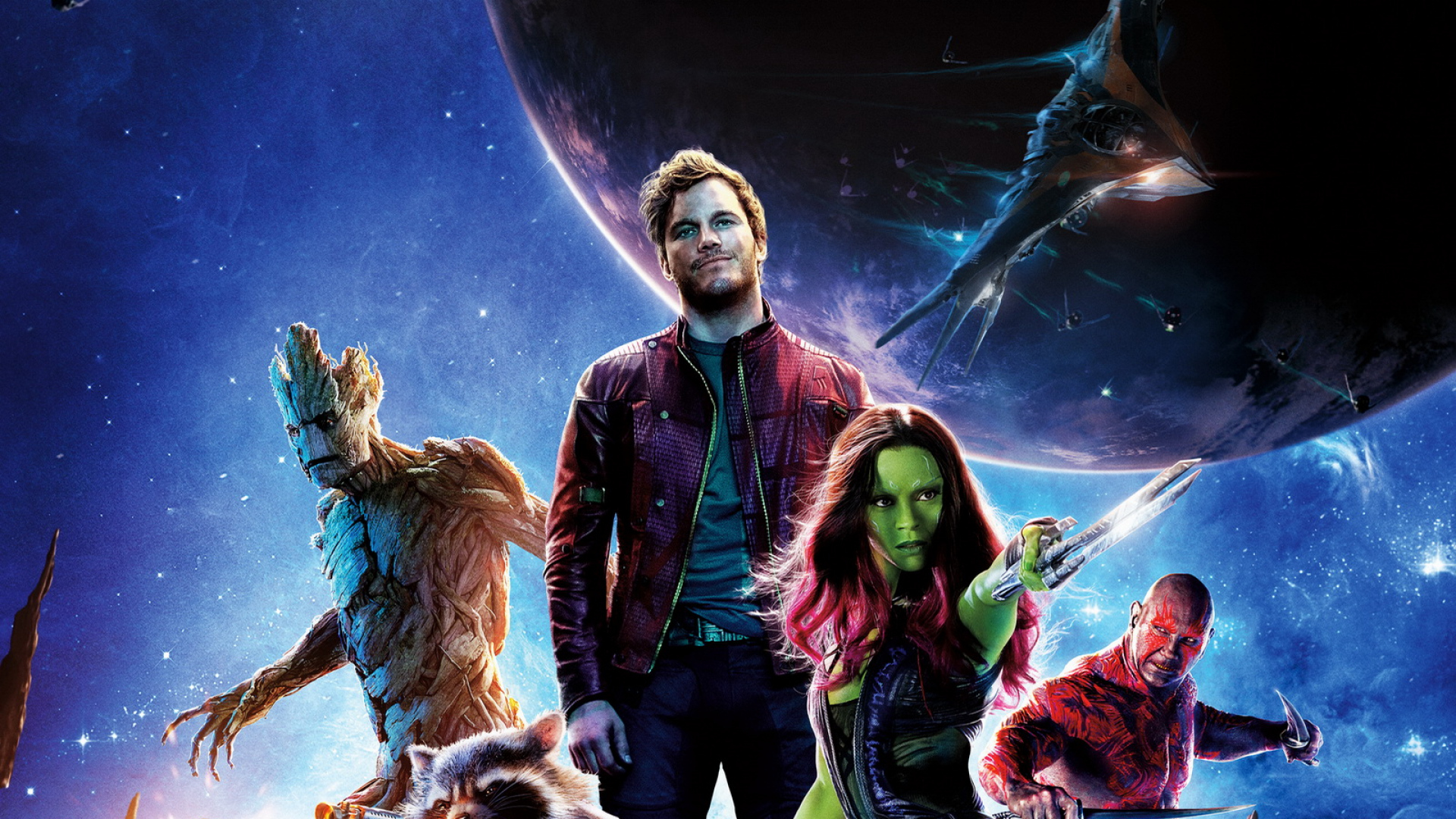 Chris Pratt In Guardians Of The Galaxy Poster Hd Image Free