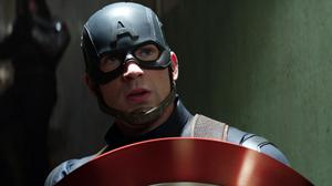 Chris Evans As Captain America Download HD Wallpaper