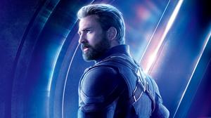 Chris Evans As Captain America In Avengers Infinity War Free Transparent Image HD