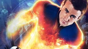 Chris Evans As Human Torch In Fantastic Four Download Free Image