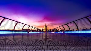 London Millennium Footbridge Free HD Image