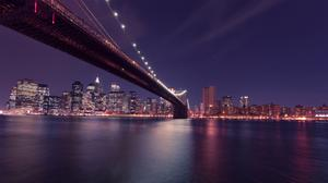 New York Brooklyn Bridge Free Transparent Image HQ