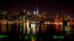 New York City Colorful View Wallpaper Image High Quality