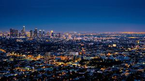 City Los Angeles Cityscape Free Transparent Image HD