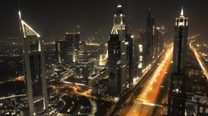 Dubai Sky High Buildings HD Image Free Wallpaper
