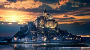 Beautiful Castle Free Download Image
