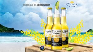 Corona Beer And Beach View Hd HQ Image Free Wallpaper