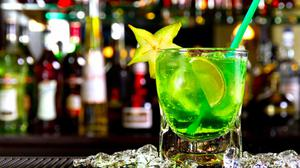Green Mojito Summer Cocktail Drink Hd HQ Image Free Wallpaper