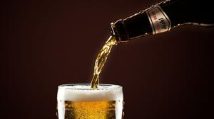 Pouring Beer In A Glass Download HQ Wallpaper