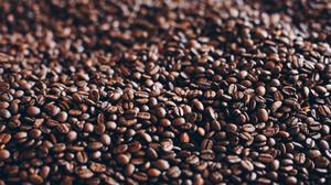 Roasted Coffee Beans Close Up Image Free Transparent Image HQ