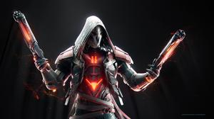 Reaper Artwork Overwatch HD Image Free Wallpaper