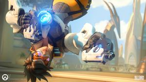 Tracer Overwatch Action Free HD Image