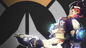 Tracer Overwatch Fan Art Hd Wallpaper Free Photo