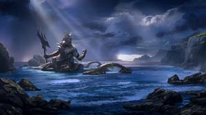 God Of War Ascension Poseidon HQ Image Free Wallpaper