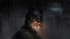 Old Batman Art Free Transparent Image HD