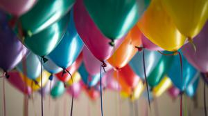 Party Balloons Free Transparent Image HD