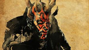 Darth Maul Art Free Wallpaper HQ