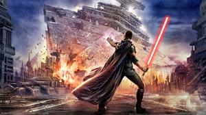 Star Wars Force Unleashed Lightsaber Download HQ Wallpaper