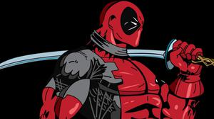 Deadpool Marvel Art Superhero Free Wallpaper HQ