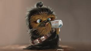 Chewbacca Cute Baby Wallpaper Download Free