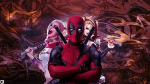 Deadpool Harley Quinn Concept Art Free Transparent Image HQ