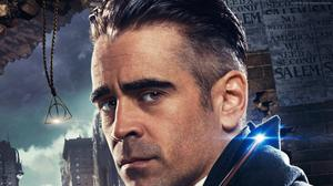 Percival Graves Colin Farrell Fantastic Beasts Poster Free Transparent Image HD