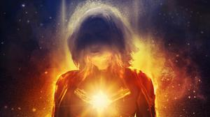 Captain Marvel Hd Art Free Download Image