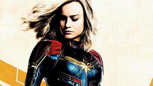 Carol Danvers Captain Marvel HQ Image Free Wallpaper