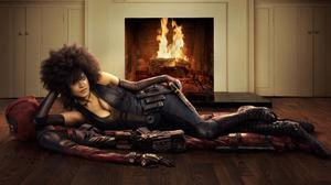 Zazie Beetz As Domino In Deadpool 2 Free Transparent Image HD