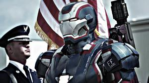 Iron Patriot In Iron Man 3 Movie Wallpaper Download Free