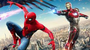 Iron Man With Spiderman Wallpaper Free Photo