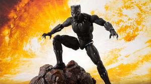 Black Panther Action Figure Free Wallpaper HQ