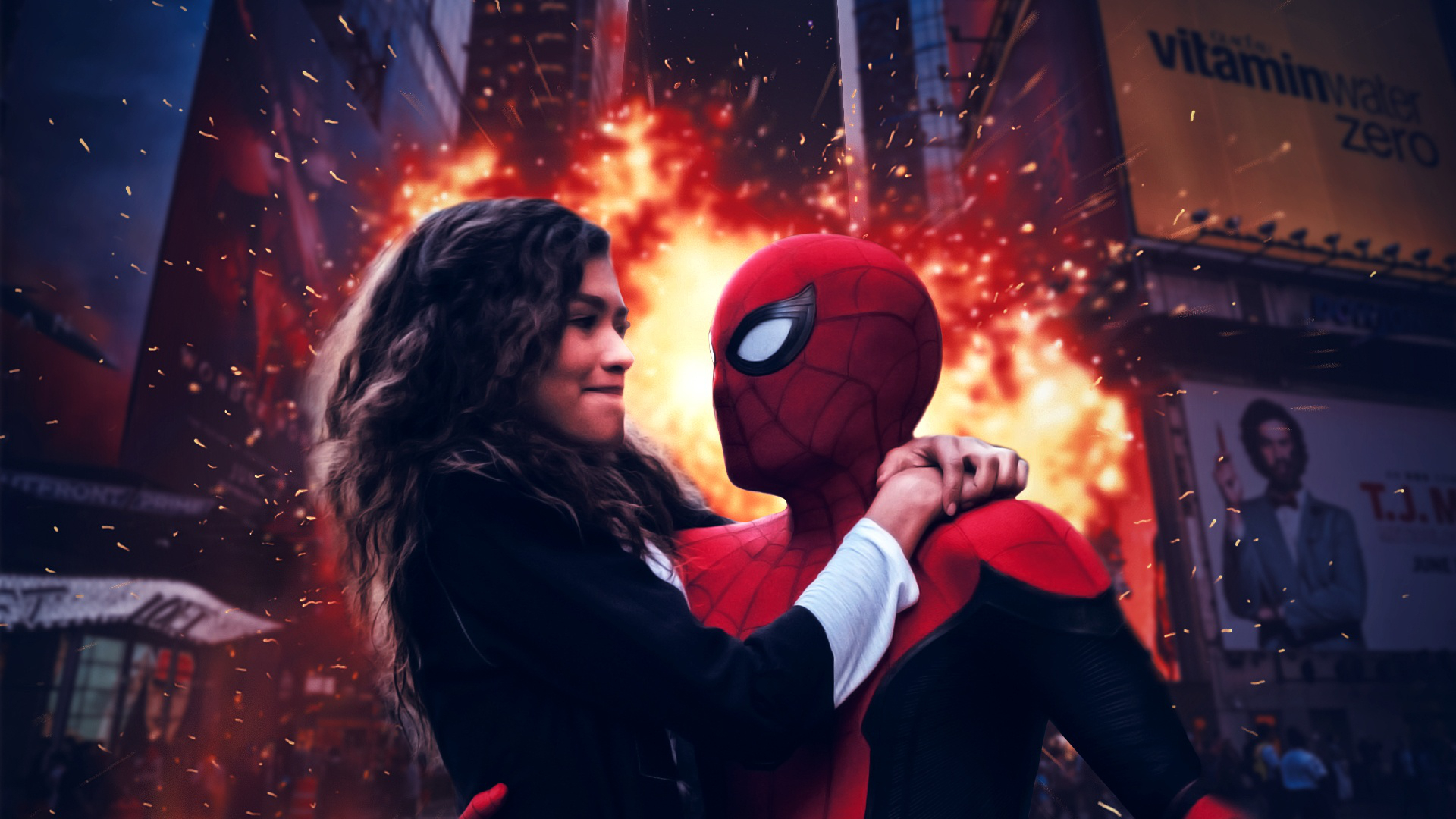 Spiderman Far From Home Free Download Wallpaper Hd Mewallpaper