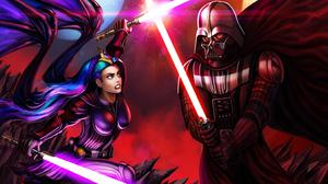 Darth Vader And Jedi Queen Download Free Image