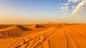 Sky And Desert Sand View Download Free Image